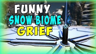 FUNNY SNOW BIOME GRIEF ! | Ark Official PvP | Ark Survival evolved Gameplay