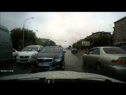 Наглые водители в Кокшетау