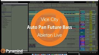 Creating Future Bass Chords with Auto Pan | Ableton Live | Vice City