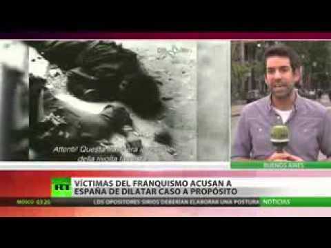 Víctimas del franquismo acusan a España de dilatar el caso a propósito