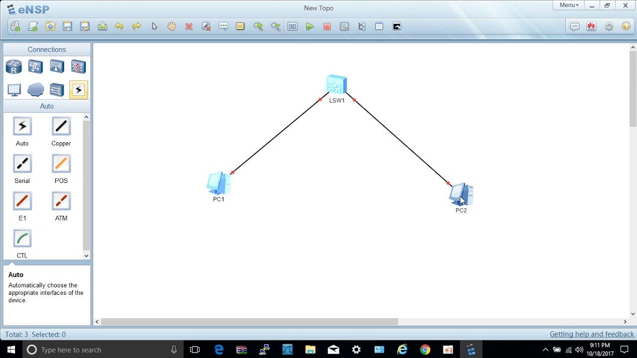eNSP Huawei Network Simulator