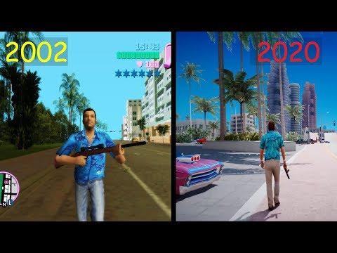 Evolution Of GTA : Vice City (2002-2020)