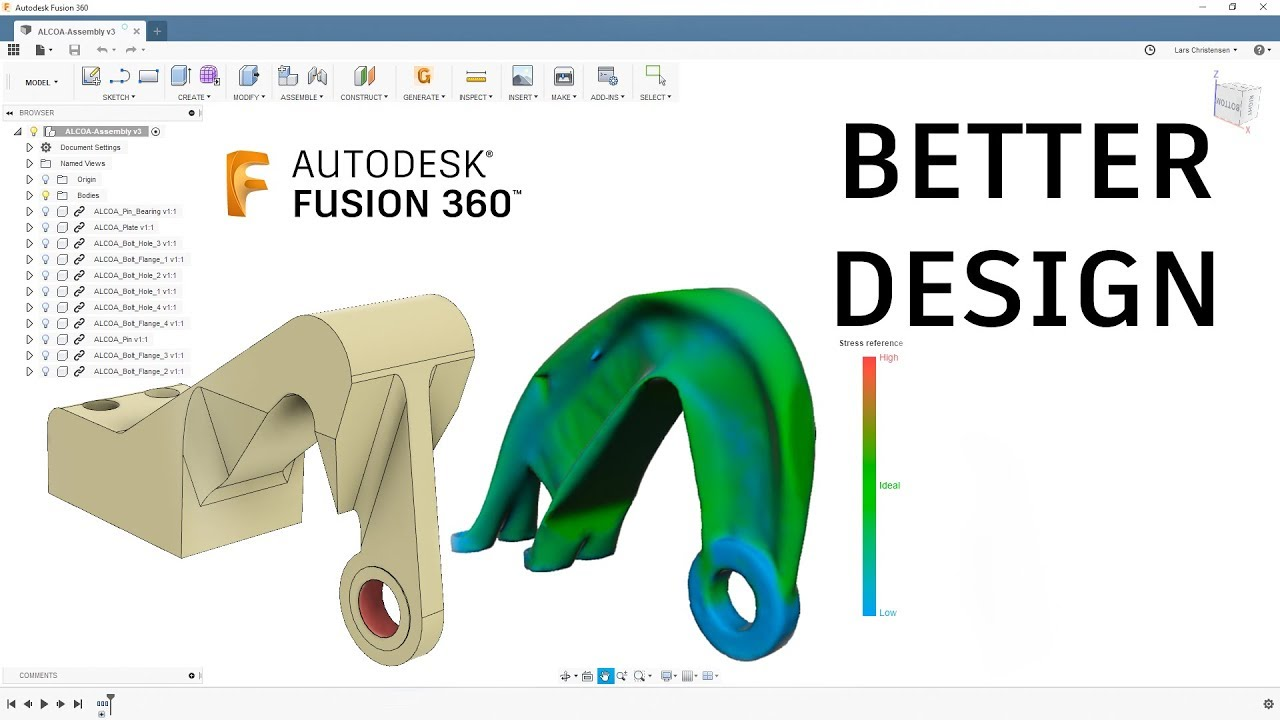How To Setup & Run A Generative Design Project — Fusion 360 Tutorial —  #LarsLive 175