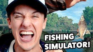 Reagerar På Dumma Spel : FISHING SIMULATOR