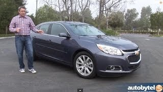 2014 Chevrolet Malibu 2LT Test Drive Video Review