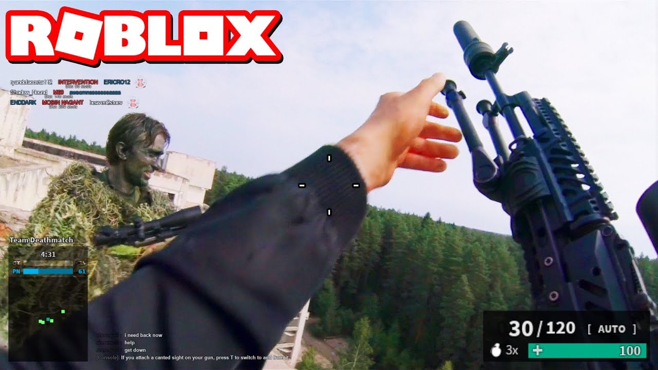 Roblox Games Phantom Forces Realistic Roblox Phantom Forces Youtube
