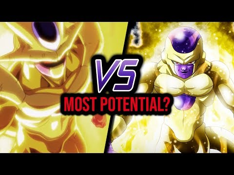 Golden Cooler VS Golden Frieza (Dragon Ball Heroes)