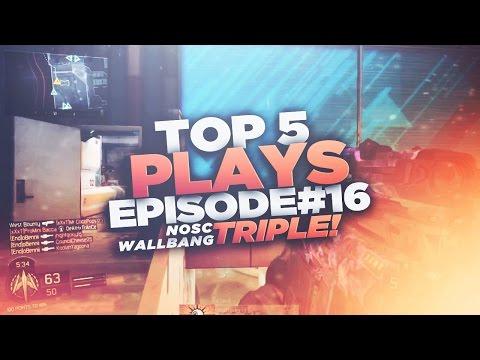 Region   Top 5 Plays #16!   (NOSC TRIPLE WALLBANG!)