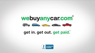 We Buy Any Car® Get In. Get Out. Get Paid.℠ 2021 TV Commercial
