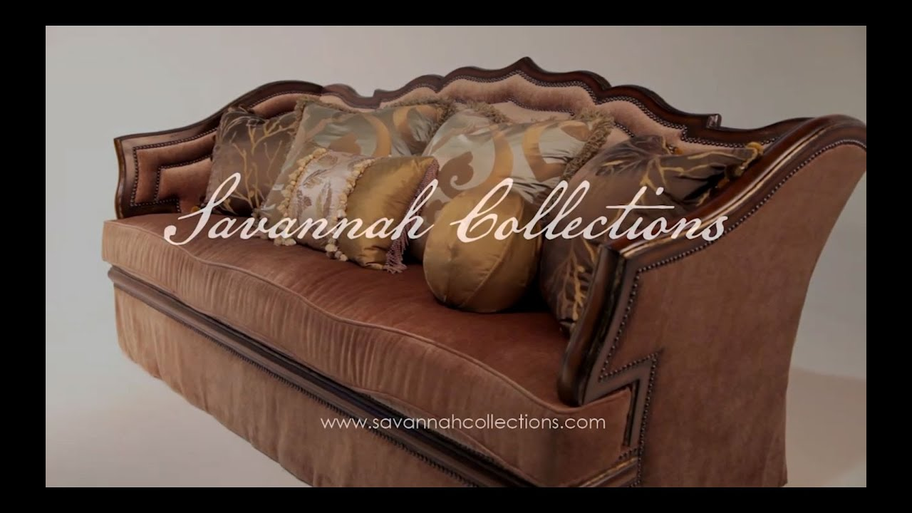 Italian Furniture Sofa By Savannah Collections Mathis Brothers