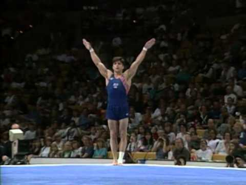 Kip Simons - Floor Exercise - 1996 Olympic Trials - Men - Day 2