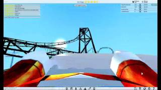 ROBLOX Theme Park Tycoon 2-the longest rollercoaster!