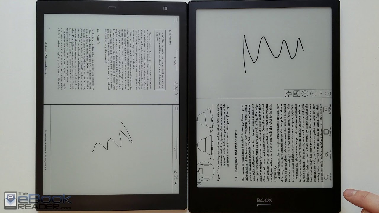 Kindle Vs Sony Reader: Sony DPT-CP1 Vs Onyx Boox Note Comparison Review