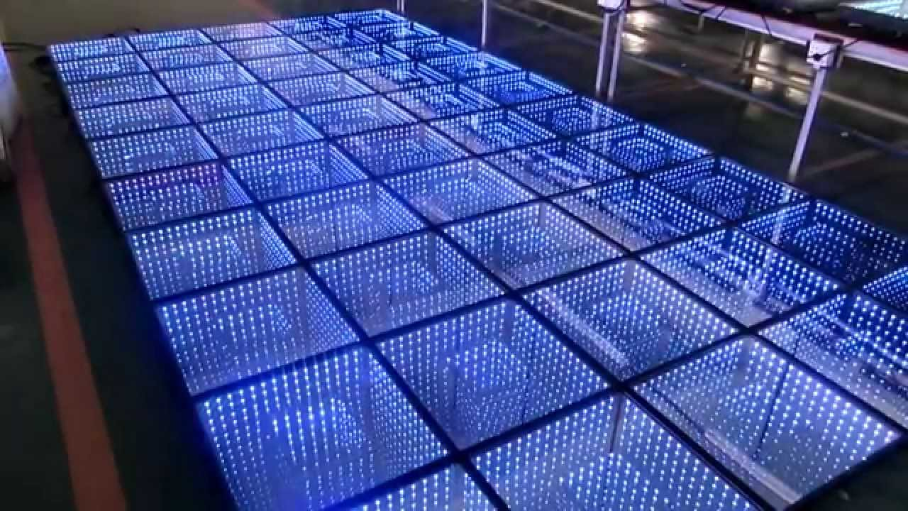 3d Infinity Led Dance Floor Stage Lighting Dmx Dance Floor