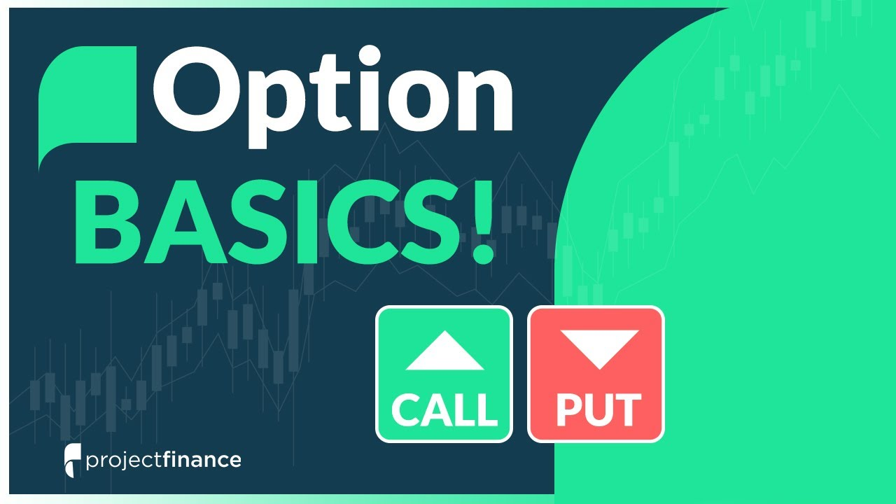 Put and call options trading