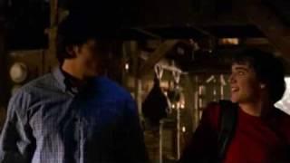 Smallville Impluse/ Bart Allen Justice scene