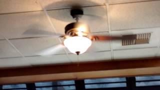 8 Walmart Ceiling Fans at a Restaurant