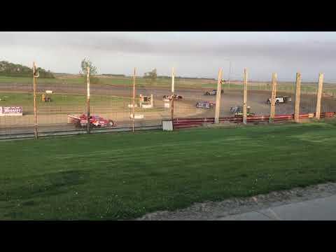 June 1st Devils Lake Speedway Late model Heat 3