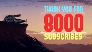 Thank you / 8000 SUBS