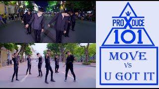 [KPOP IN PUBLIC] PRODUCE X 101 (  프로듀스X101 ) _ MOVE + U GOT IT   DANCE COVER @ FGDance from Vietnam