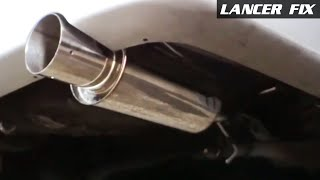 Lancer Fix 27 | Reposition Exhaust, Corner Lights, Adjust Throttle Line