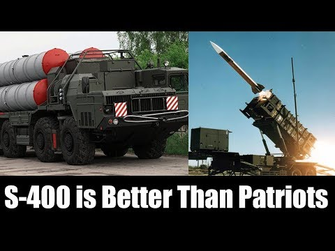Russian Defense Ministry Explains Why S-400 is Better Than Patriots