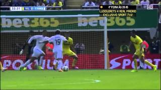 Video Gol Pertandingan Real Madrid vs Villarreal