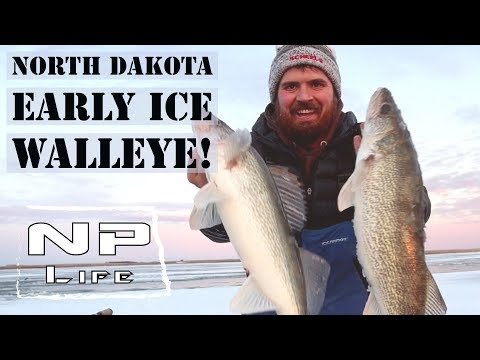Non-Stop Walleyes! | North Dakota Early Ice 2019 | NPLife