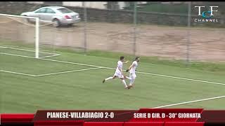 Serie D Girone D Pianese-Villabiagio 2-0 TeleIdea