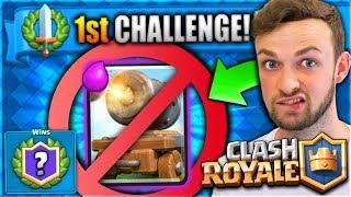 "NEW ""CANNON CART"" FAIL + 1ST EVER CHALLENGE! - Clash Royale"