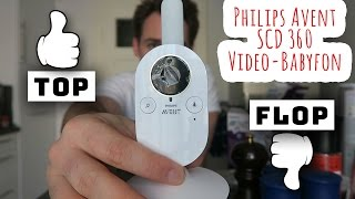 TOP oder FLOP? Wir testen das Philips Avent SCD 360 Video-Babyfon