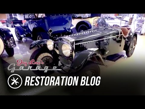 Restoration Blog: August 2016 – Jay Leno's Garage