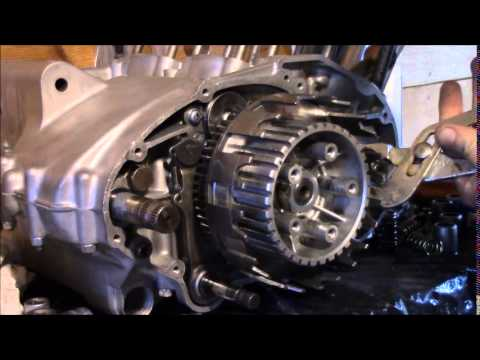 Kawasaki 2 stroke 750 right engine embly - YouTube