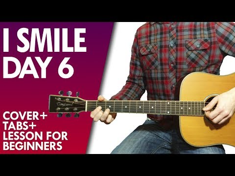 DAY6 - I Smile guitar lesson and tab