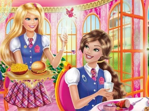 Barbie Charm School Challenge > Play Online Game ...