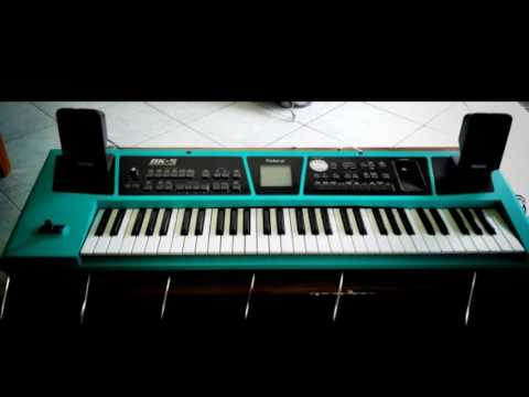 Sampling Dangdut Roland BK 5