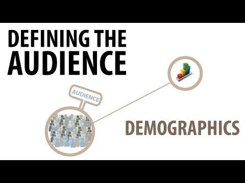 Defining Audience | Demographics | media studies