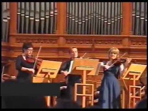 Bach Concerto for 3 Violins BWV 1064 III Mov. - Irina Bochkova, Elena Revich & Svetlana Teplova