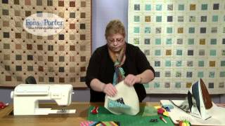 Sew Easy Lesson: Crazy Pieced Blocks