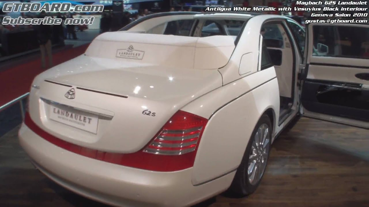 1080p: maybach 62s landaulet - youtube
