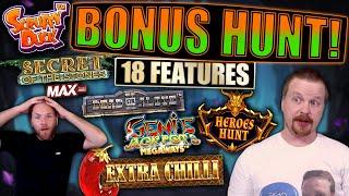 Bonus Hunt Opening #25 - 18 Slot Bonuses / €5000 start