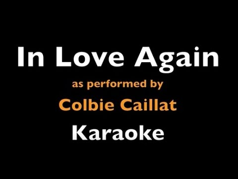 In Love Again - Colbie Caillat - Karaoke Instrumental