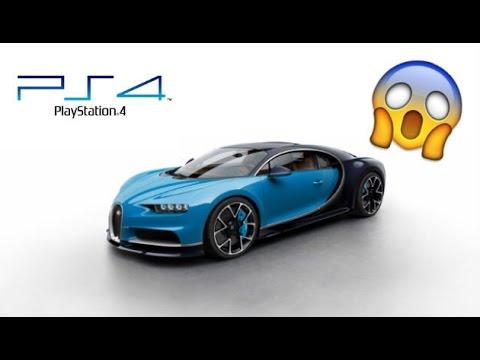 [PS4] MA BUGATTI CHIRON - DLC IMPORT EXPORT - GTA5 ONLINE