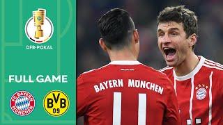 Nice Thomas Müller lob in giants matchup   FC Bayern vs. Dortmund   DFBPokal Round of 16   2017