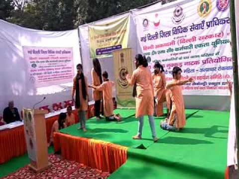 Nukkad Natak Competition of college students