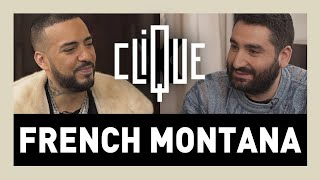 FRENCH MONTANA TALK ABOUT CHEB HASNI ( INTERVIEW ON CLIQUE TV EXCLUSIVE)حديث مونتانا  عن الشاب حسني