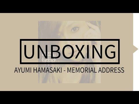 Ayumi Hamasaki - Memorial Address Album Unboxing (CD+DVD)