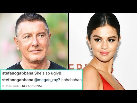 Designer Stefano Gabbana Calls Selena 'Ugly', Selena Gomez's fans came to her defense