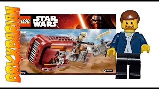 Lego Investing Rey's Speeder 75099