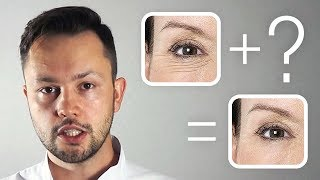 Как избавиться от морщин вокруг глаз при помощи дешевого аптечного средства.